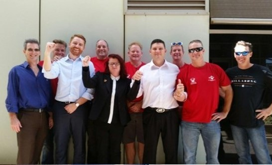 NT Fire Service Employee Reinstated