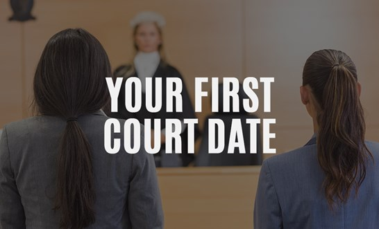 What happens at my first court date?